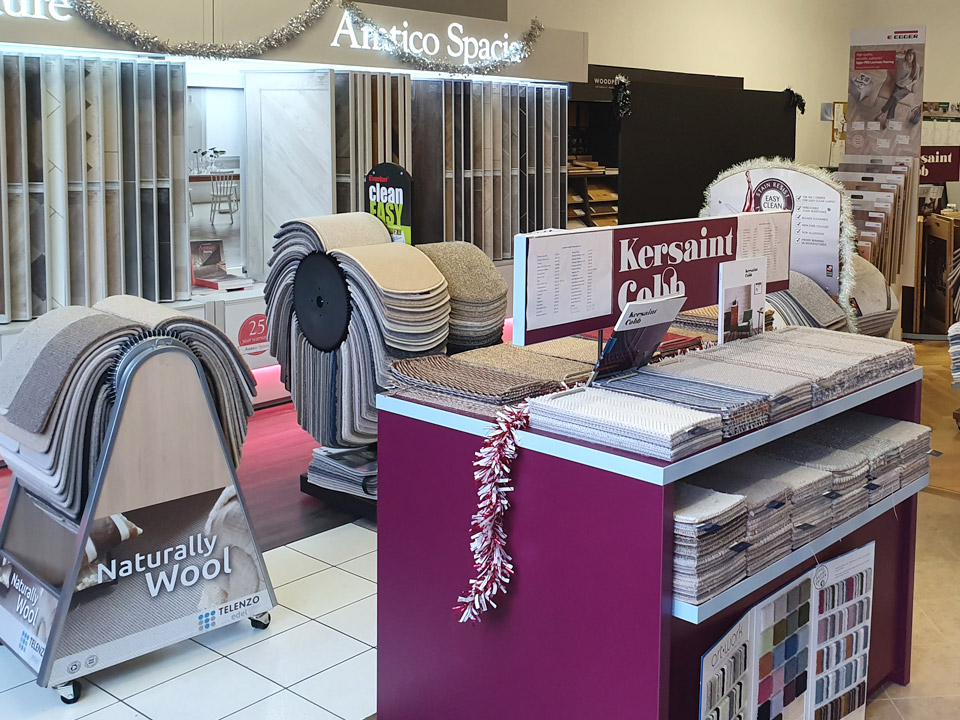 Carpet Showroom in Devizes Wiltshire